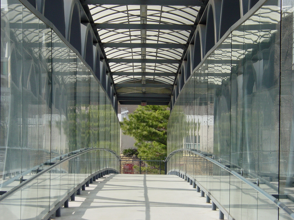 Glass Pedestrian Bridge 2