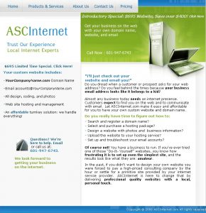 ASC Internet Website