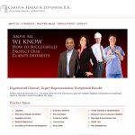 CHS Legal Website