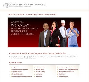 CHS Legal Website