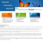 Dreamcore v. 2.0 Website