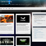 Gamer Sorority Website