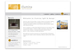 Illumina Lighting Website