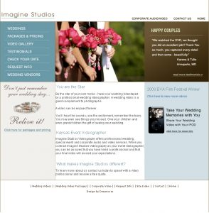 Imagine Studios Website