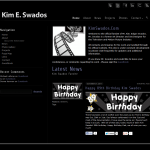 Fansite for Kim Swados