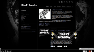 Fansite for Kim Swados